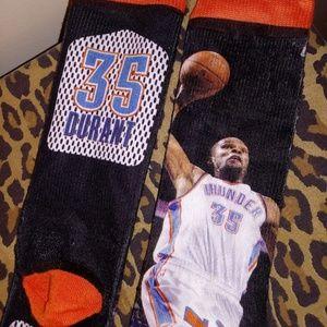 NWOT OKC Thunder Kevin Durant Socks FBF Originals